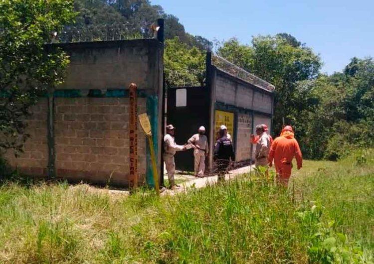 Controlan toma clandestina en Xicotepec