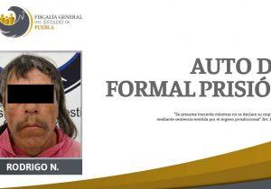 Dan prisión a hombre por coparticipar en doble homicidio en Puebla