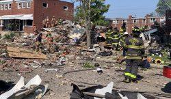"""Una """"gran explosión"""" de gas en Baltimore deja un muerto,…"""