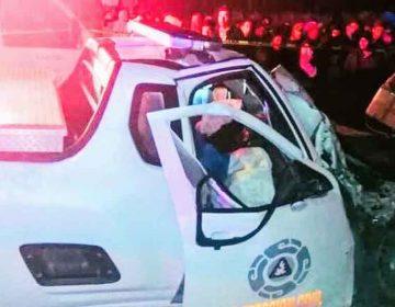 En choque pierde la vida el delegado de Protección Civil de Ciudad Serdán