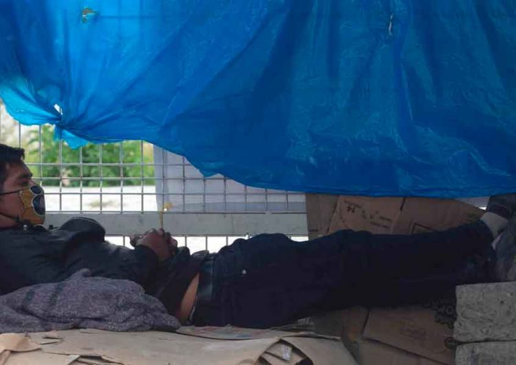 En condiciones insalubres familiares de pacientes en el hospital de Tehuacán