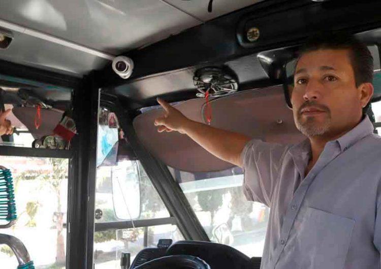 """Era """"patito"""" el sistema de cámaras del transporte público de Puebla"""
