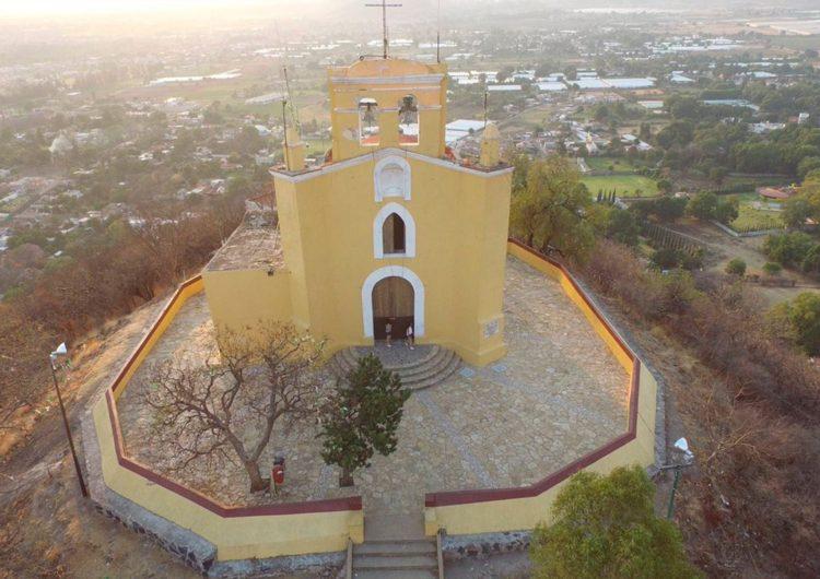 Hallan figuras prehispánicas en el cerro de San Miguel de Atlixco