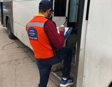 Incumplen 180 unidades de transporte público con protocolos sanitarios