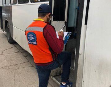 Reinciden 180 unidades de transporte público en incumplimiento de protocolos sanitarios