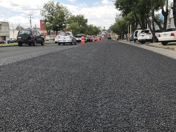 Realizan mantenimiento preventivo a vialidades del municipio de Aguascalientes