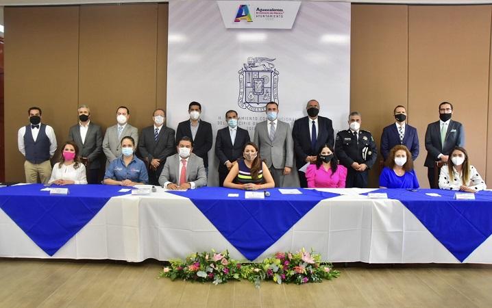 Instalan Consejo Permanente de Seguridad Ciudadana en el municipio de Aguascalientes