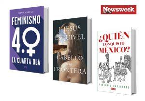 Tres libros de autores mexicanos