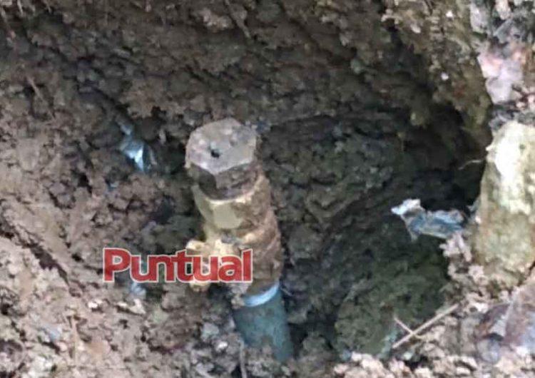 Localizan toma clandestina en Xicotepec
