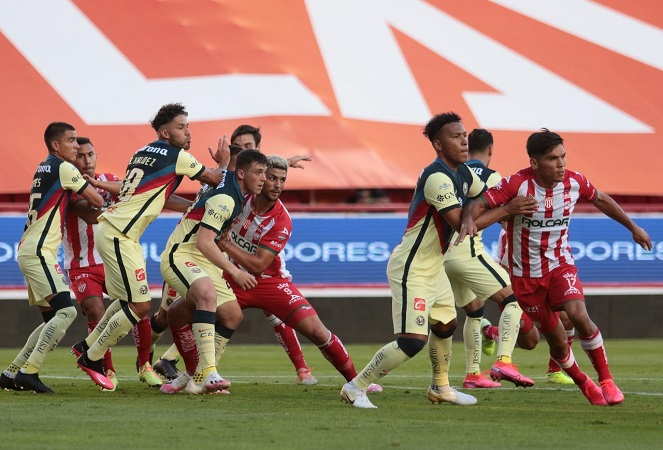 Necaxa y América dividen puntos en Aguascalientes