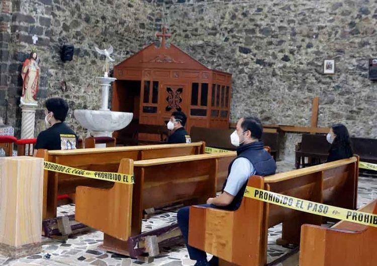 Reapertura paulatina de templos en Puebla