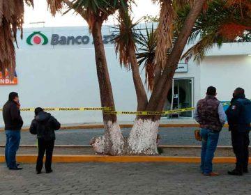 Roban cajero de Banco Azteca en Puebla