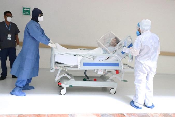 Por miedo pacientes de Covid-19 no acuden a recibir atención médica