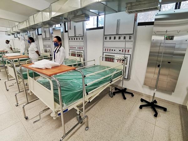 Activan 50 camas para pacientes Covid en la XIV Zona Militar