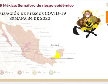 Campeche es primer estado en amarillo en semáforo COVID