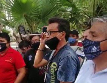 Protestan por Ley Seca restauranteros
