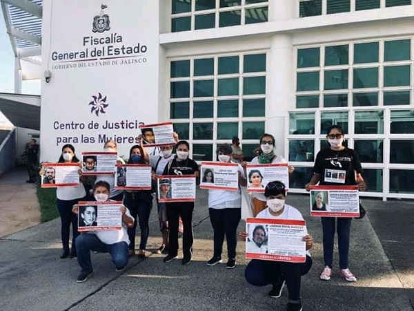 Inicia caravana de familiares de desaparecidos de Aguascalientes en Puerto Vallarta