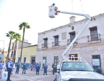Adquiere municipio de Jesús María nueva grúa para el área de alumbrado público