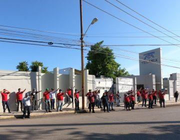 Protestan trabajadores de Telmex vs Ifetel