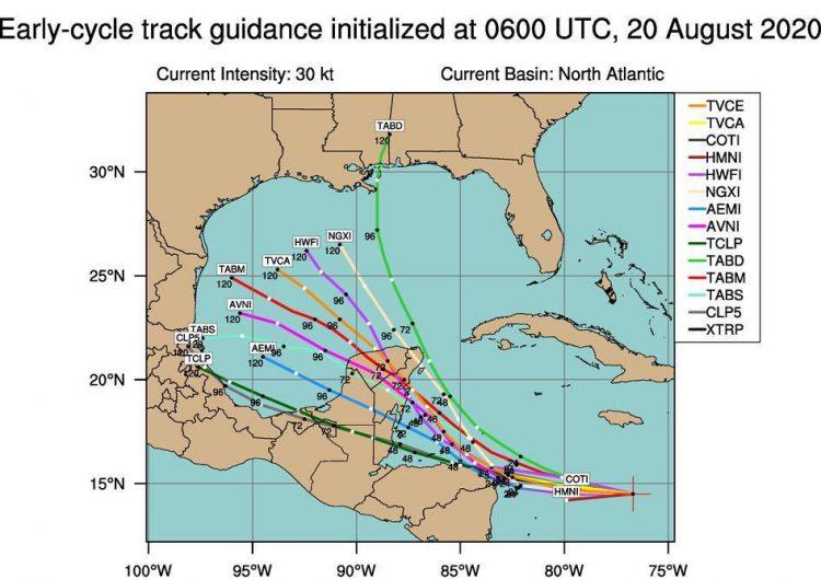 Dejan lluvias depresión tropical