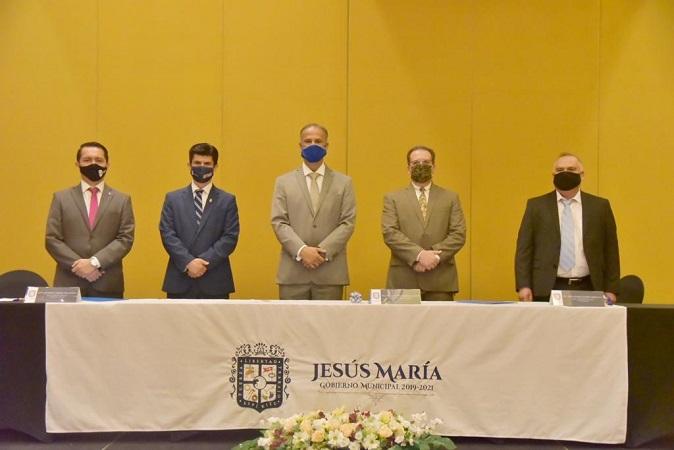 Firman municipio de Jesús María e institutos tecnológicos convenio de colaboración