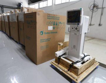 Llegan a Aguascalientes 30 ventiladores y monitores para pacientes de Covid-19