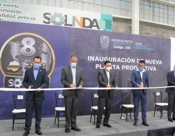 Asiste alcalde de Jesús María a inauguración de planta Solinda Tools