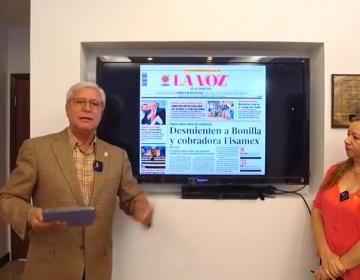 En agosto, Bonilla y su gobierno suman 10 ataques a la prensa; descalifica por primera vez a hombres periodistas