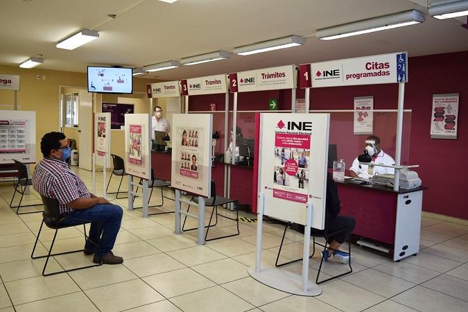 Este lunes se reiniciará la entrega de credenciales de elector en módulos del INE