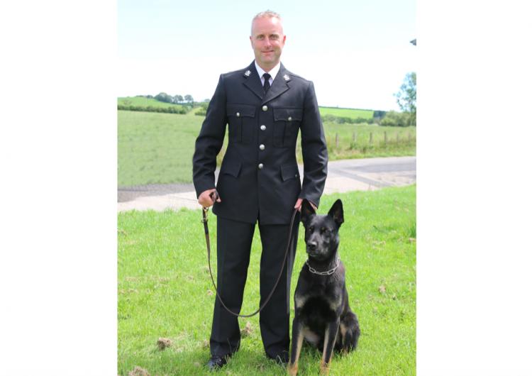 En su primer día de trabajo como policía, perro encuentra a bebé y madre desaparecidos