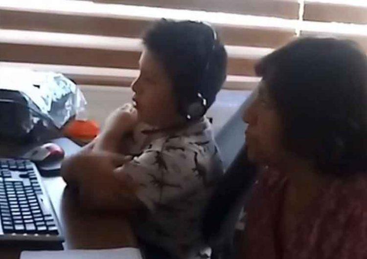 Abuelos salen al quite en el inicio de Aprende en Casa