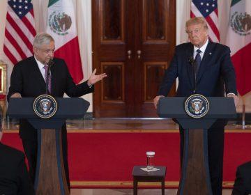 Trump amenaza a México por narcotráfico; AMLO dice que evitará confrontación