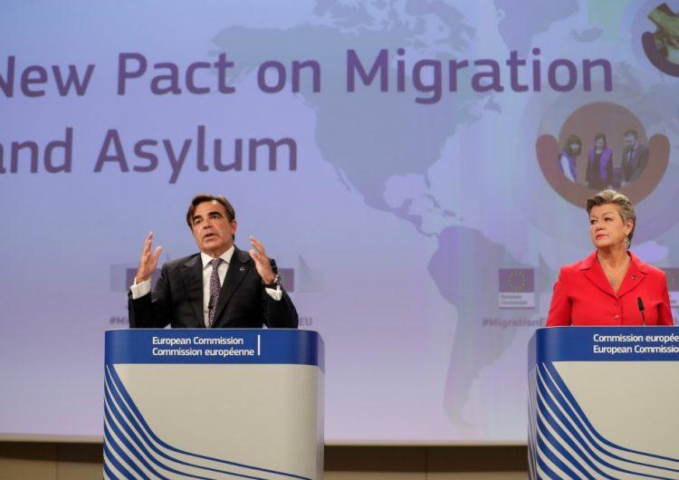 La Unión Europea lanza un nuevo pacto migratorio que refuerza controles y acelera expulsiones
