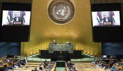 Presidente de la Autoridad Palestina pide a la ONU una…