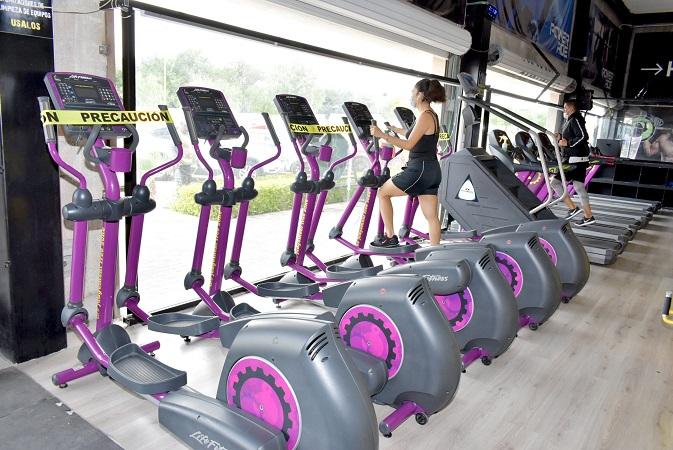 Revisa municipio de Aguascalientes protocolos sanitarios en gimnasios