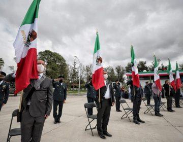 Realizan evento cívico del 16 de septiembre en la XIV Zona Militar