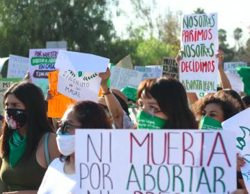 Investiga CEDH la actuación de policías durante la marcha en Tijuana para despenalizar el aborto