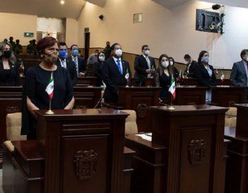 Inicia Congreso de Aguascalientes nuevo periodo ordinario de sesiones
