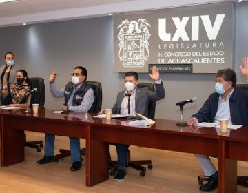 Concluye trabajos la Diputación Permanente del Congreso Estatal