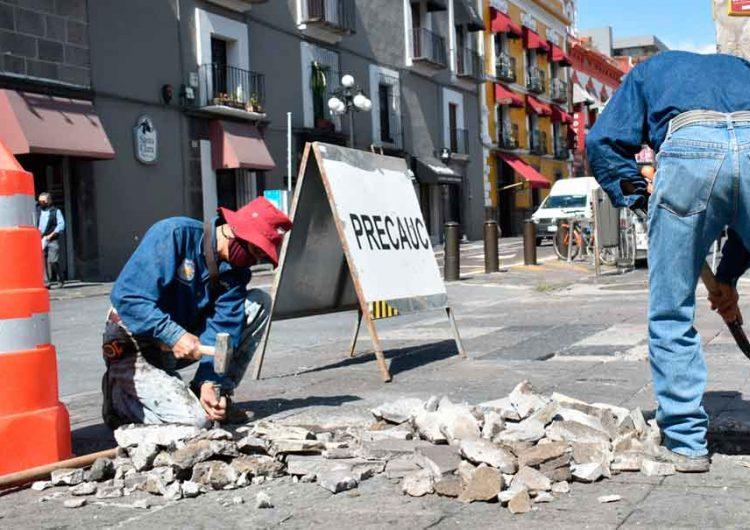 Garantizan que el proyecto del centro histórico de Puebla no será cancelado