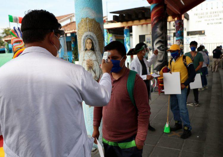 Se suman 554 defunciones a la lista de muertos por COVID-19 en México