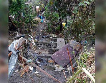 Habitantes de Izúcar de Matamoros, abandonan sus viviendas por inundaciones