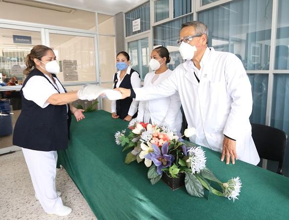 Habilitan áreas para pacientes sospechosos de Covid-19 en hospitales de Aguascalientes