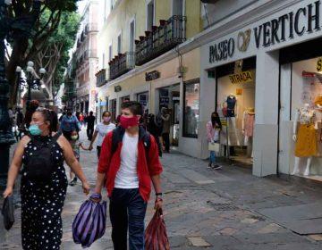 Lejos la recuperación económica de comerciantes del centro histórico en Puebla