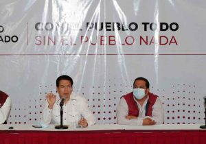 Mario Delgado hace llamado a consolidar a Morena