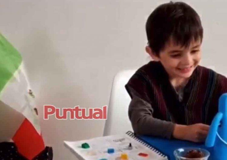 Niños celebran 15 de septiembre con verbenas a través de plataformas
