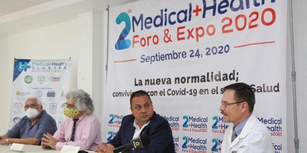 Presentan el segundo Medical + Health Foro & Expo virtual 2020