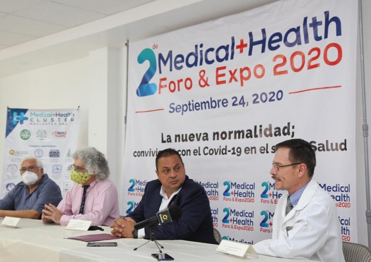 Presentan el segundo Medical + Health Foro & Expo virtual 2020
