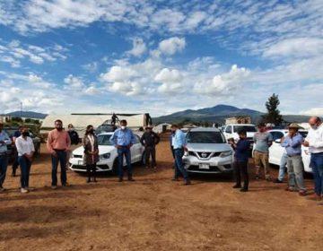 Productores de cuatro municipios de Puebla insisten a Conagua frenar el uso de cañones antigranizo