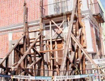 Sin reconstruir 400 monumentos históricos en Puebla